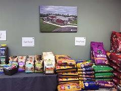 Pet Food Pantry at the Montgomery County Animal Care and Adoption Center