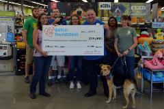Petco $15,000 Check Presentation to the Animal Care and Adoption Center